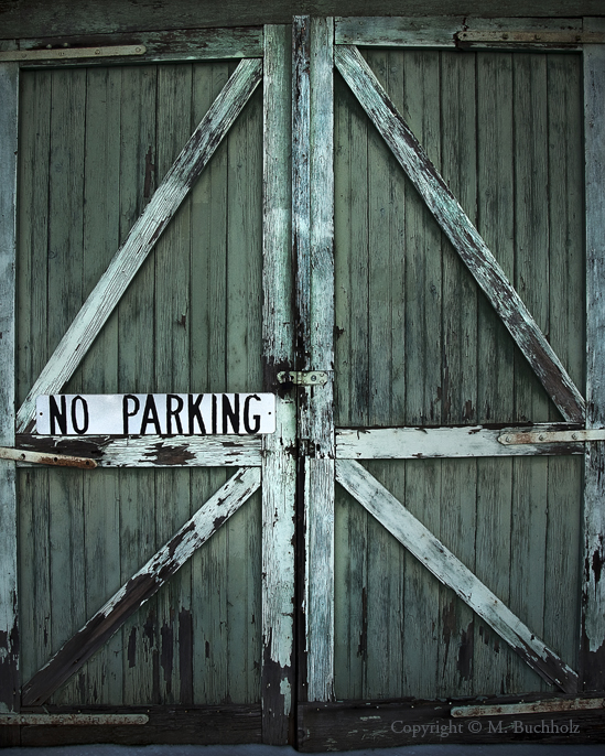 No Parking; Barn, City Hall, Portsmouth, NH