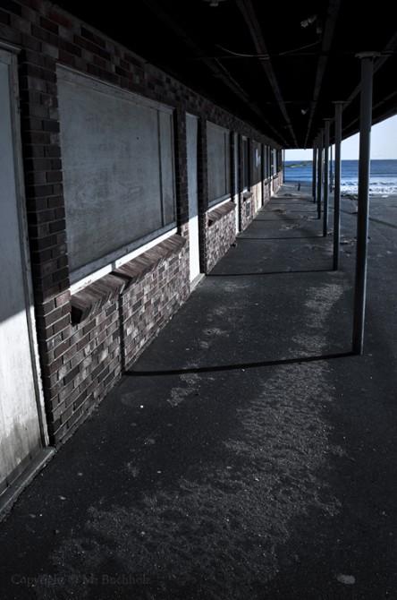 Closed For Season; Ogunquit Beach, Maine