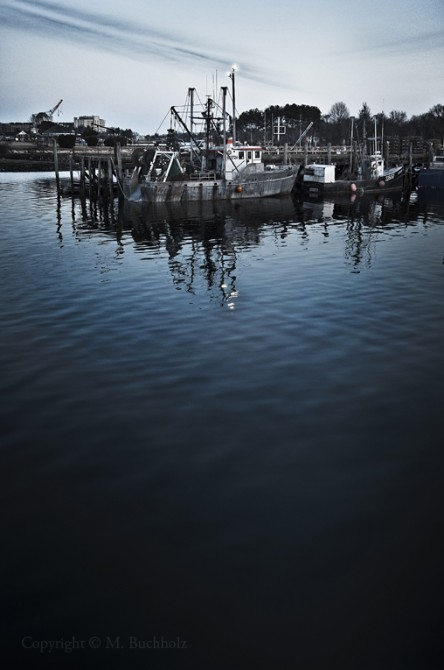 Fishing Boats; Portsmouth, NH