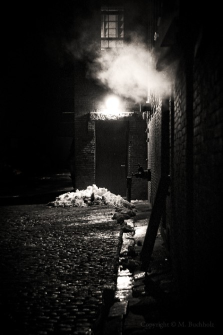 Alleyway Exhaust; Newburyport, MA