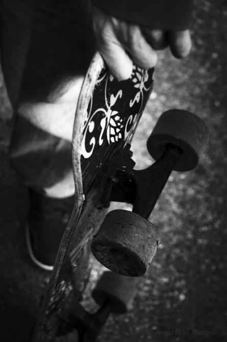 In Waiting; Skateboard