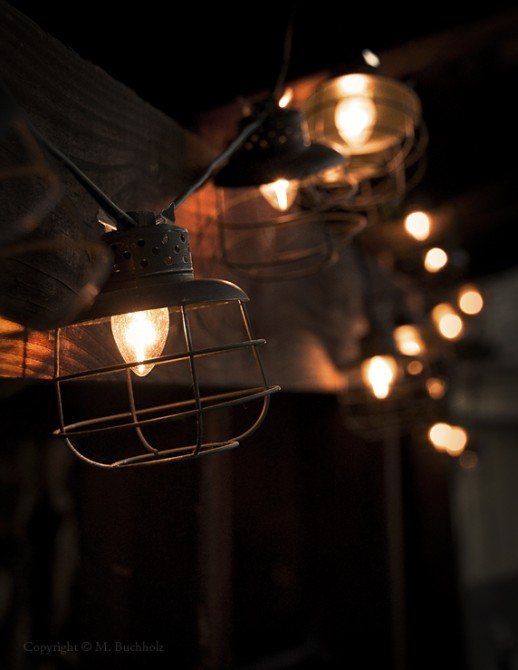 Lighting; Tiki Hut