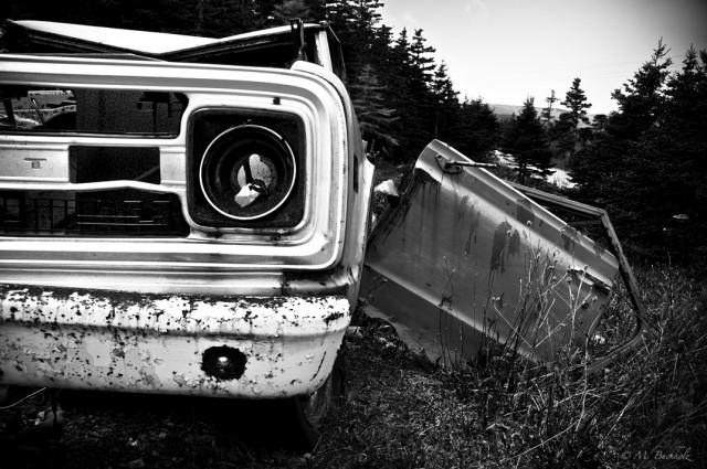 Abandoned; Money Point Road, Nova Scotia
