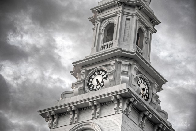 North Church Clocktower; Portsmouth, New Hampshire