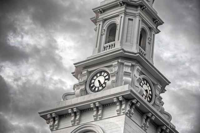 North Church Clocktower; Portsmouth, New Hampshire