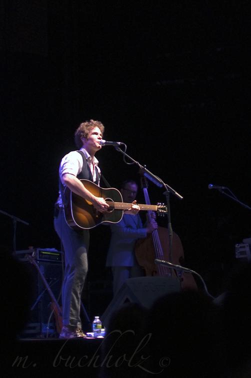 Josh Ritter at State Theater (10/22/2010); Portland, Maine