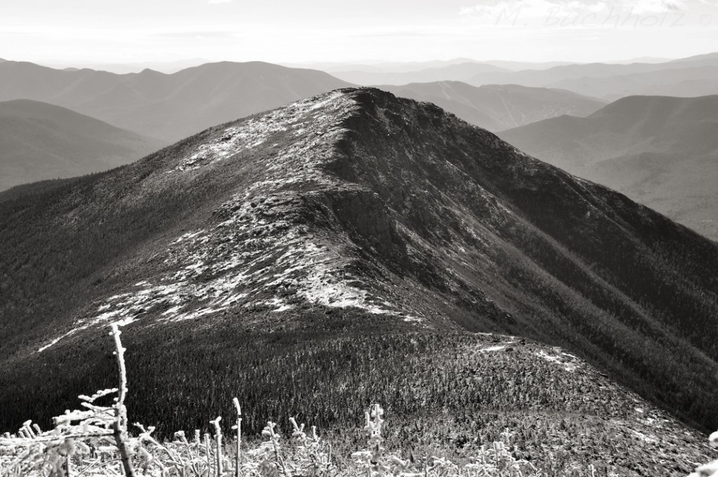 Bondcliff from trail up Mt. Bond