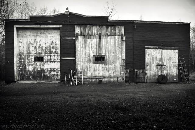 Garage in Berlin, NH