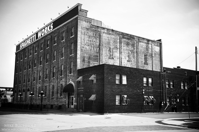 Spaghetti Works Warehouse; E. William Street, Wichita, Kansas