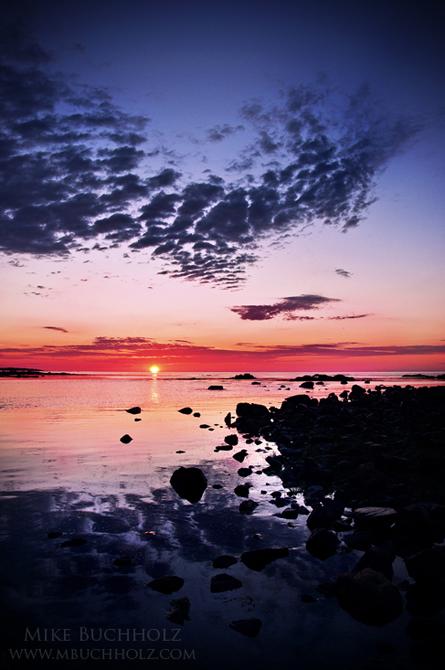 Sunrise; Odiorne State Park, Rye, NH