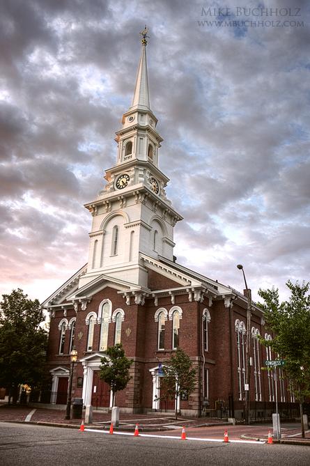 Sunrise, North Church; Portsmouth, New Hampshire