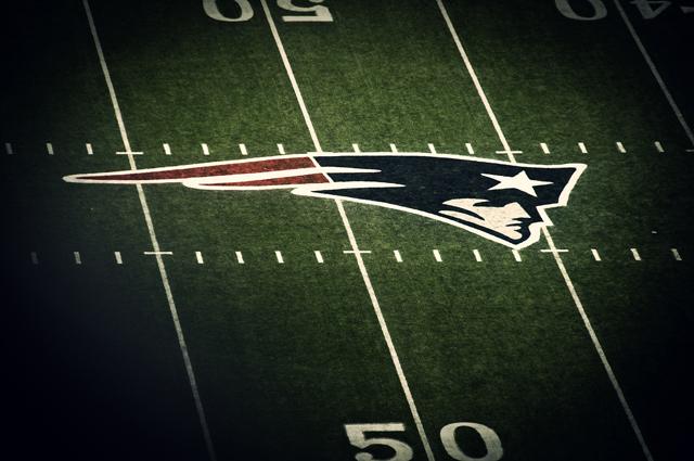 Patriots Logo; Center-Field, Gillette Stadium, Foxborough (Foxboro), Massachusetts