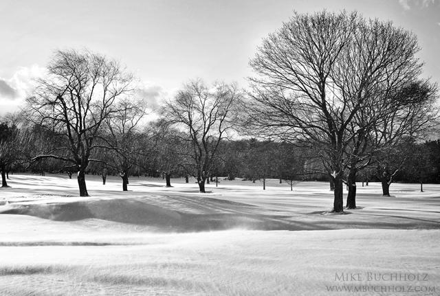 Abenaqui Country Club, Winter; Rye Beach, NH