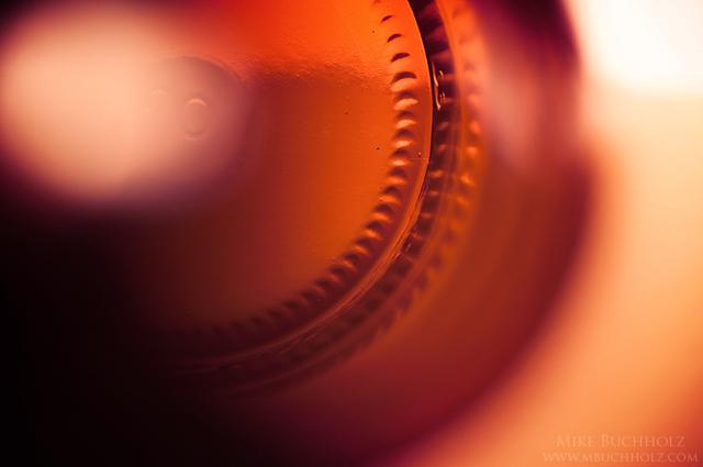 Until The Last Drop; Glass Beer Bottle