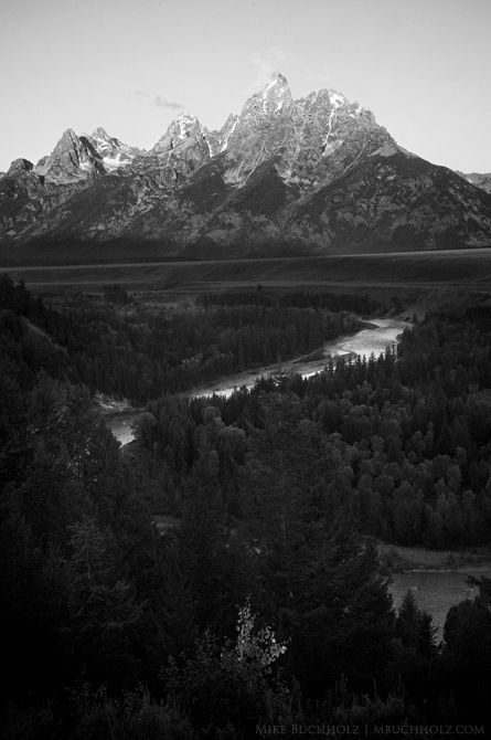 Snake River at the Grand Tetons; Wyoming
