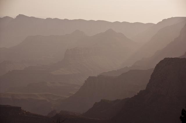 Layers, Sunrise; Grand Canyon, Arizona