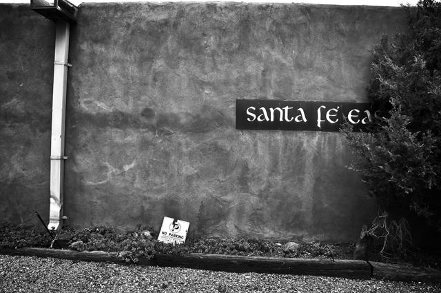 No Parking; Sante Fe, New Mexico