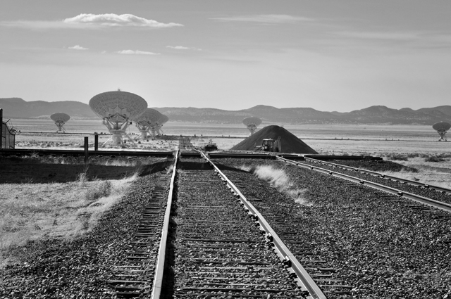 Railroad Tracks; Very Large Array, Socorro County, NM