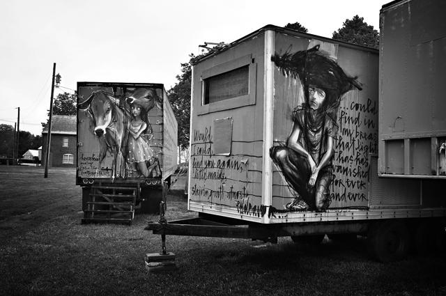 Street Art, Herakut; Prescott Art Festival, Portsmouth, NH