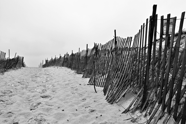 Sand Walkway; Plum Island, Massachusetts