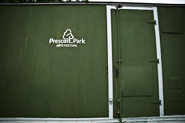 Prescott Park Art Festival, Trailer; Portsmouth, NH