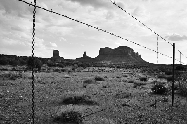 Keep Out; Monument Valley, Utah