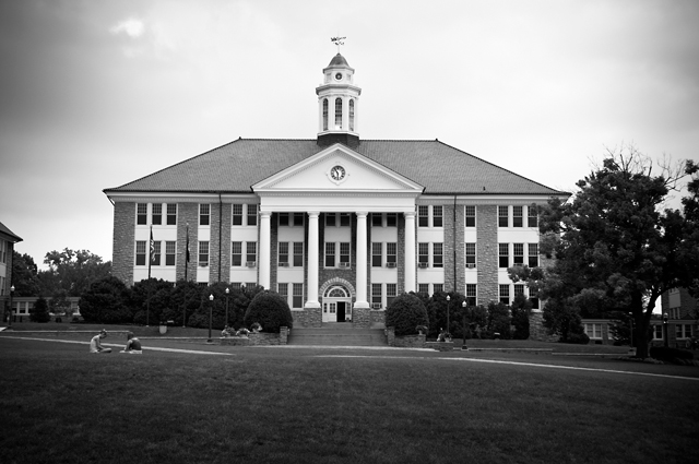 Wilson Hall, James Madison University Quad; Harrisonburg, Virginia
