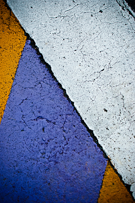 School Colors; Speed-bumps, James Madison University, Harrisonburg, VA
