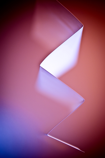 Abstract, Folded Paper