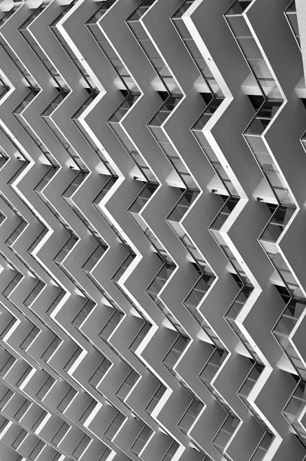 Balcony Cascade II; Eden Roc, Miami Beach, Florida