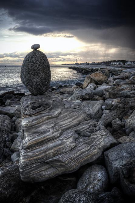 Balancing Act, Breaker; Rye Beach, NH