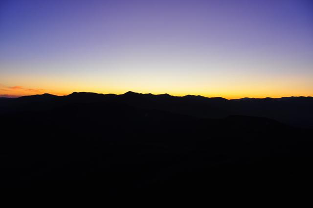Horizon Lines on the Kancamagus Highway; White Mountains, NH