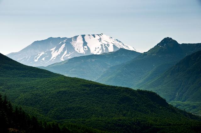 Ridgelines, Mount St. Helens