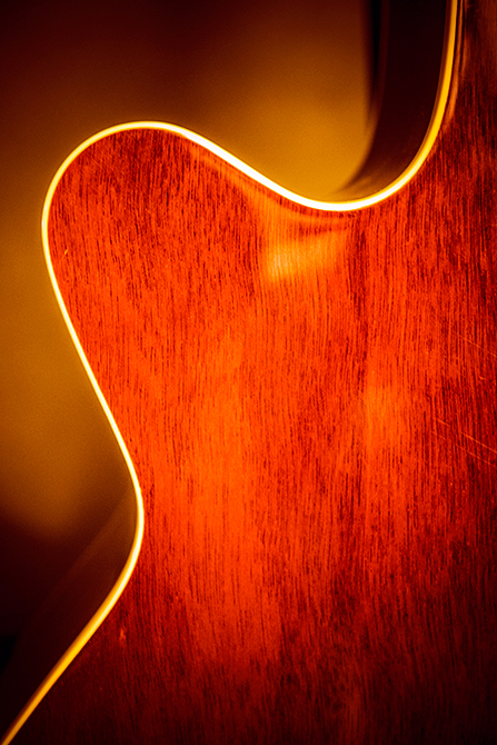 Sunburst Lines, Acoustic Guitar Backing