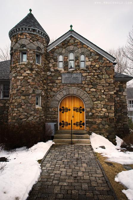 Walkway, Ogunquit Memorial Library; Ogunquit, Maine