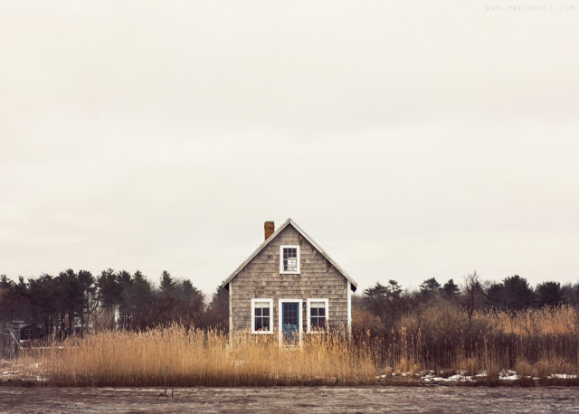 A Lonely New England Cottage