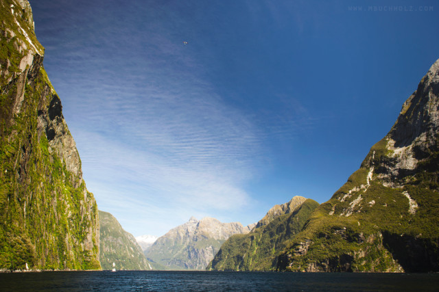 Cloud Chasing; Milford Sound, New Zealand