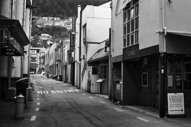 Alleyways; Queenstown, New Zealand