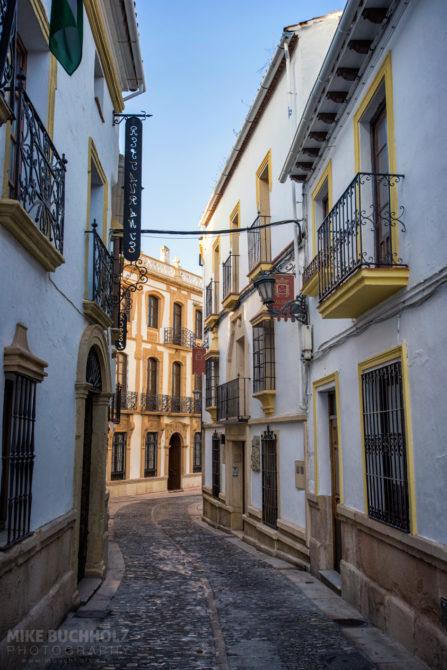 Calle Tenorio; Ronda, Andalucia, Spain