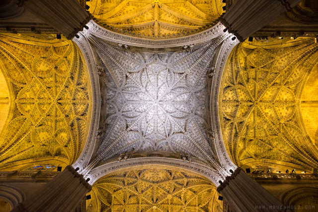 The Patterns Above; Seville Cathedral, Andalucia, Spain