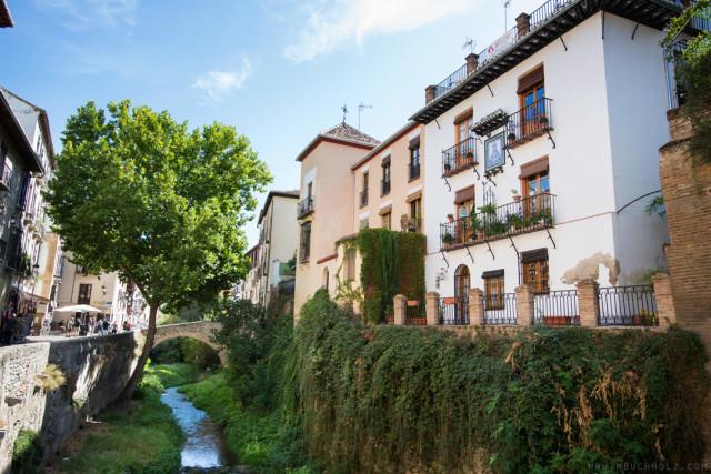 Río Darro; Granada, Spain