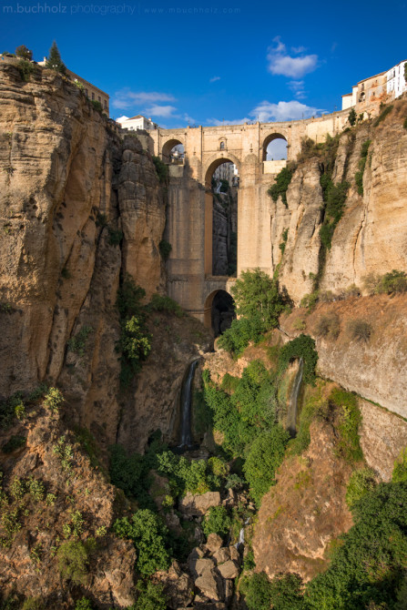 Puente Nuevo, El Tajo Gorge; Ronda, Spain