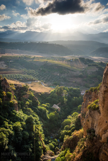 Over the Valley; Ronda, Spain