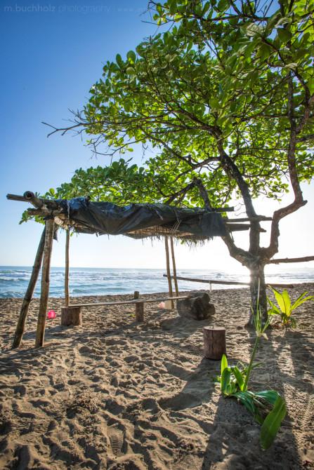 Surfers' Bench; Puerto Viejo, Costa Rica