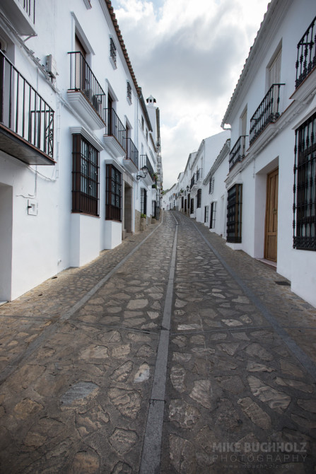 The Streets of Zahara de la Sierra; Cádiz, Spain
