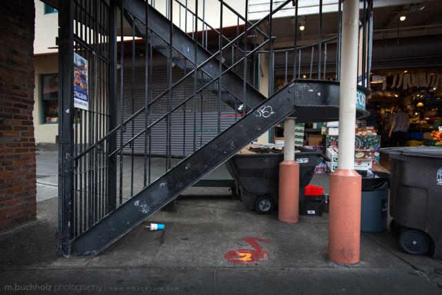 Fire Escape #2; Seattle, Washington