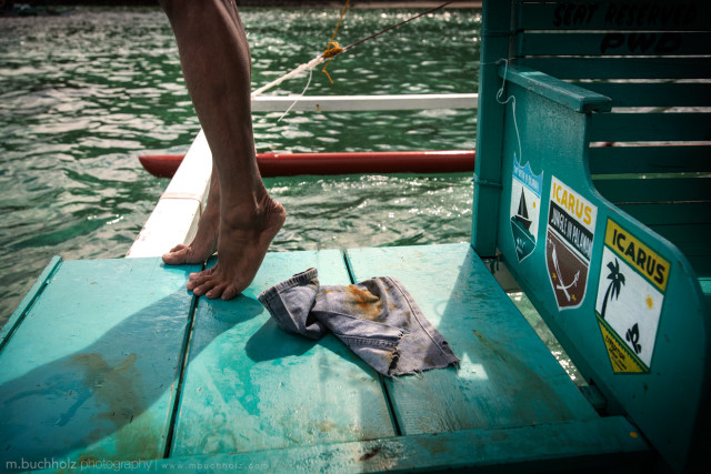 Searching; Port Barton, Philippines