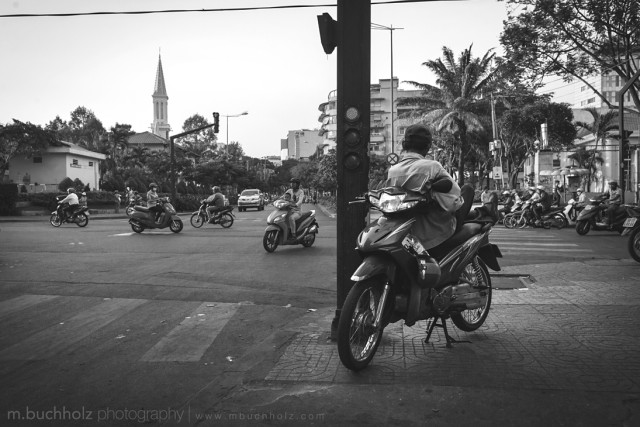 Kicking Back; Ho Chi Minh, Vietnam