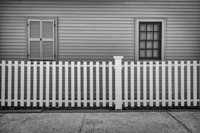 Two Sides of the Fence; Portsmouth, NH