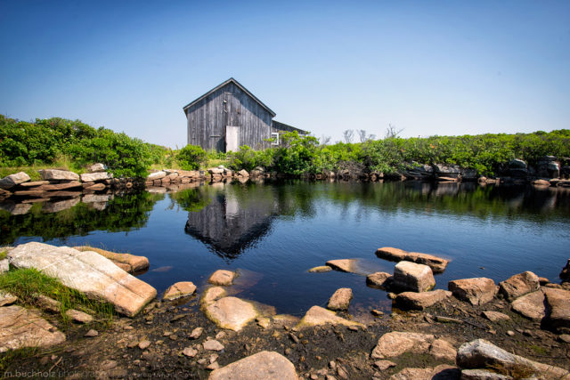 Art Barn Cabin; Star Island, New Hampshire